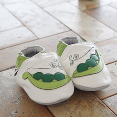 Peas - Leather Baby Shoes by Hippofeet