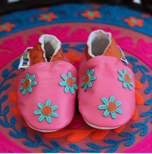 Leather Baby Shoes by Hippofeet
