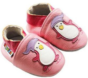 Leather Baby Shoes - Penguin