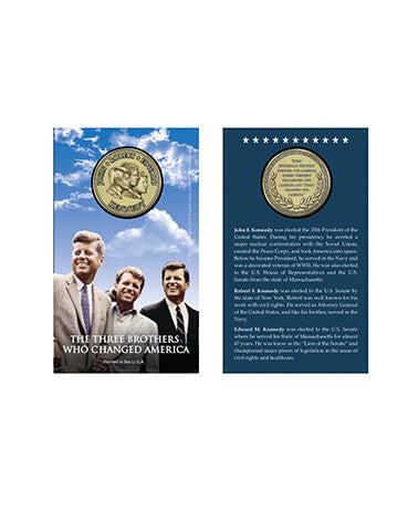 Three Kennedy Brothers Coin