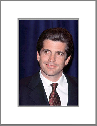 "8""x 10"" JFK Jr. Kennedy Matted Print"
