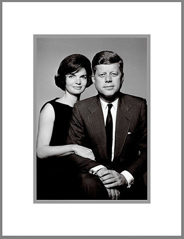 "8""x 10"" Jack and Jackie Matted Print"