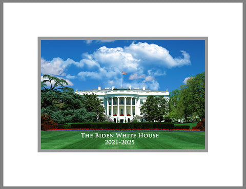 "8""x 10"" White House Matted Print"