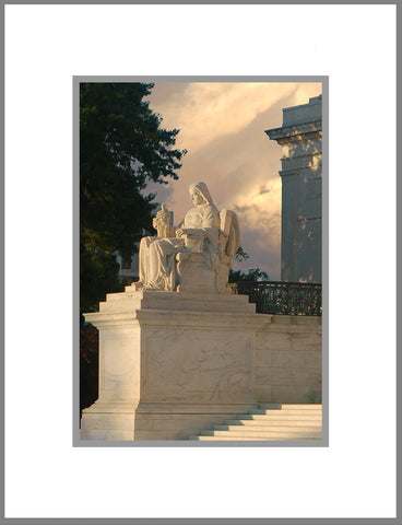 "8""x 10"" Supreme Court Matted Print"