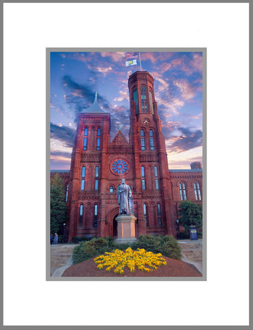 "8""x 10"" Smithsonian Institution Matted Print"