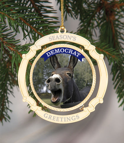 Holiday Ornament Democrat