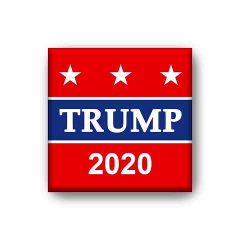 Refrigerator Magnet 2 X 2 Inches Donald Trump 2020