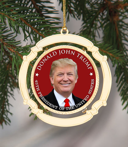 Limited Edition Donald Trump Commemorative Ornament