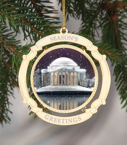 Holiday Ornament Thomas Jefferson Memorial