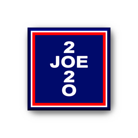 Refrigerator Magnet 2 X 2 Inches Joe Biden 2020
