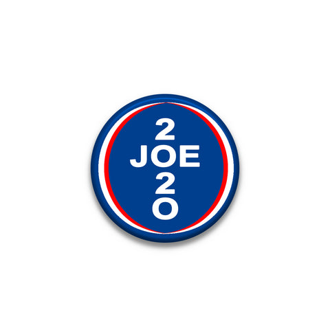 LAPEL PIN 1.5 Inches Diameter Joe Biden 2020