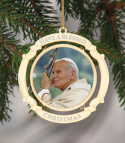 Holiday Ornament Saint John Paul II