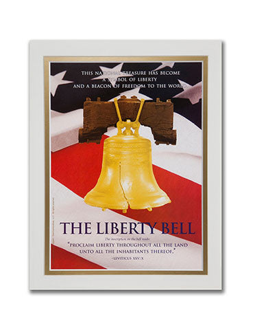 "11""x 14"" Liberty Bell Matted Print"