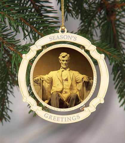 Holiday Ornament Lincoln Memorial