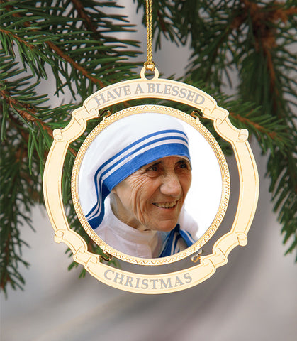 Holiday Ornament Saint Teresa