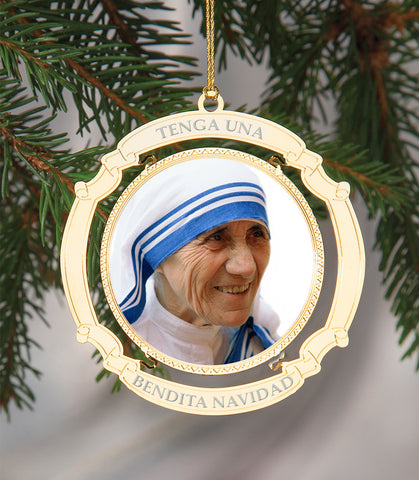 Holiday Ornament Saint Teresa Spanish