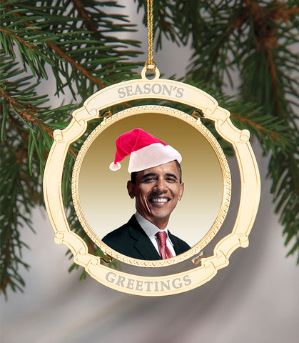 Holiday Ornament President Obama