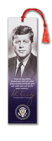 "President John F. Kennedy "" And, so my fellow Americans..."""
