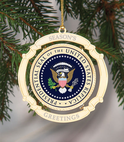 PRESIDENTIAL SEAL CHRISTMAS ORNAMENT