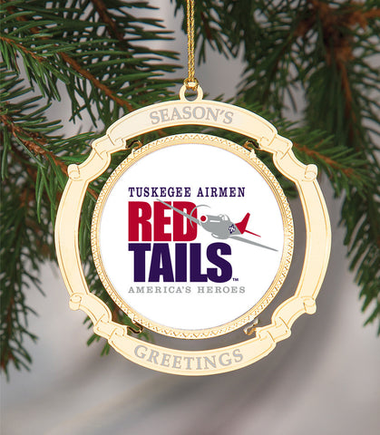 Holiday Ornament Tuskegee Airmen Red Tails