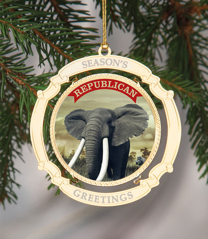 Holiday Ornament Republican