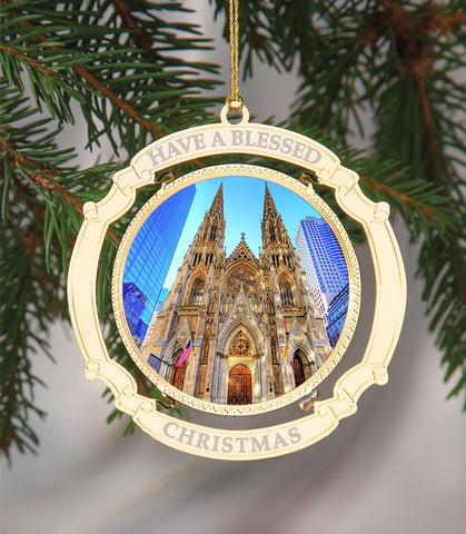 Holiday Ornament Saint Patrick's Cathedral
