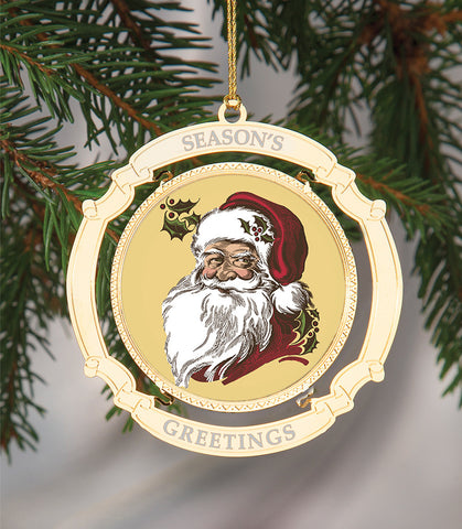 Holiday Ornament Santa Claus