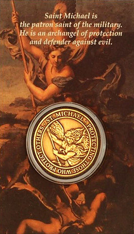 St. Michael Marine Corps Coin