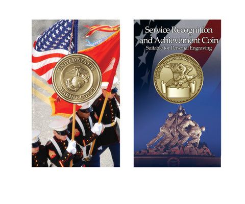 USMC Service Recognition and Achievement Coin