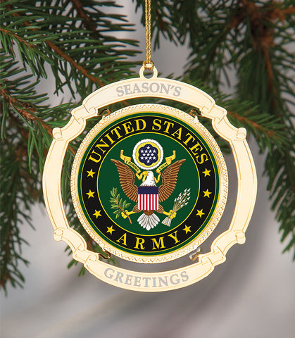 Holiday Ornament US Army