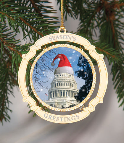 Holiday Ornament US Capitol