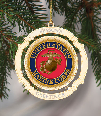 Holiday Ornament US Marine Corps
