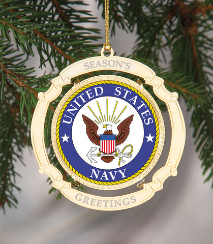 Holiday Ornament US Navy