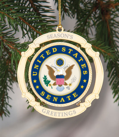 Holiday Ornament US Senate