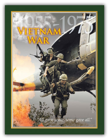"11"" x 14"" Vietnam War Commemorative Print"