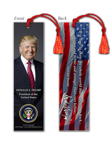 Donald Trump Bookmark