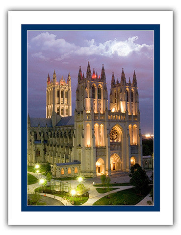 "11""x 14"" Washington National Cathedral Matted Print"
