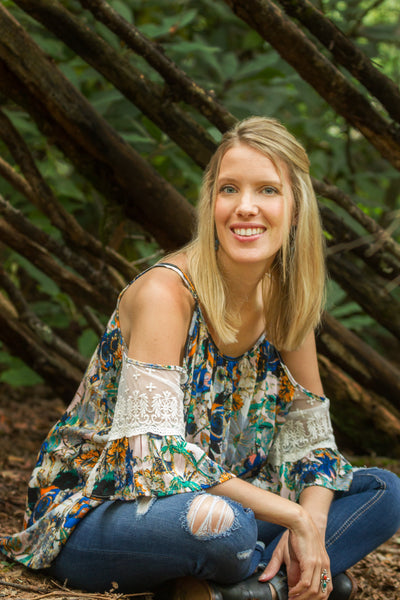 Portrait of Jen Starwalt in the Woods