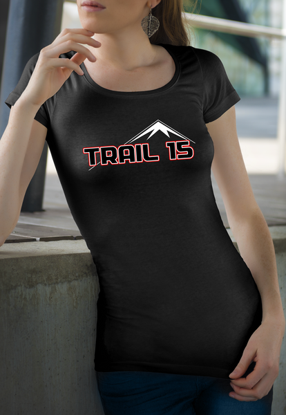 Trail 15 Black Mountain Ladies T-Shirt