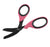 "XSHEAR® 7.5"" Heavy Duty Trauma Shears, Pink Handles, Black Titanium Coated Blades"