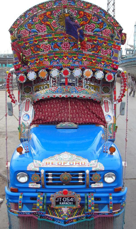 HOW TRUCK ART IS IMPROVING PUBLIC IMAGE OF PAKISTAN