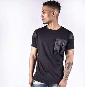 BLACK 4BIDDEN RECRUIT T-SHIRT