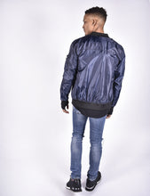 Navy 4BIDDEN Revenge Men's Bomber Jacket