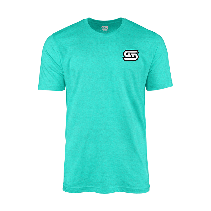Teal Gamer Supps GG Warped T-Shirt