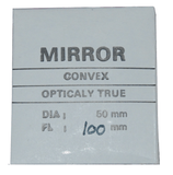 Convex Mirror, 50 mm Diameter, 100 mm Focal Length (#216)