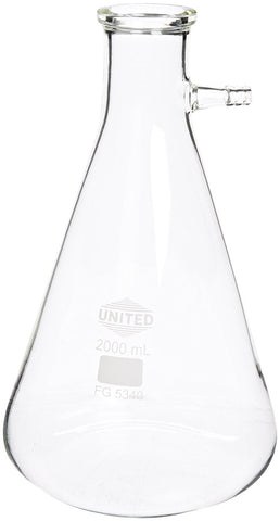 Glass Filtering Flask, 2000ml (#274-2000)