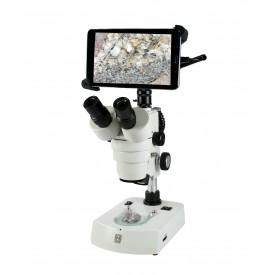 National Microscope - BTW Trinocular Stereo Series with Moticam WiFi Tablet - Benz Microscope Optics Center