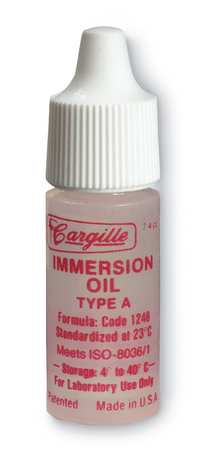 Cargille Immersion Oil, Type A - Benz Microscope Optics Center