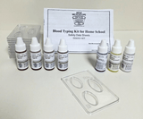 Chemicals: Activity Kit, ABO/Rh Blood Typing with 4 Simulated Blood Types for Home School (#BZ6551)