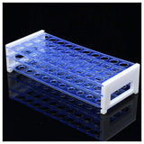 Plastic Test Tube Rack, Holds 40 Tubes or Pipettes up to 18mm diameter (#A8044)